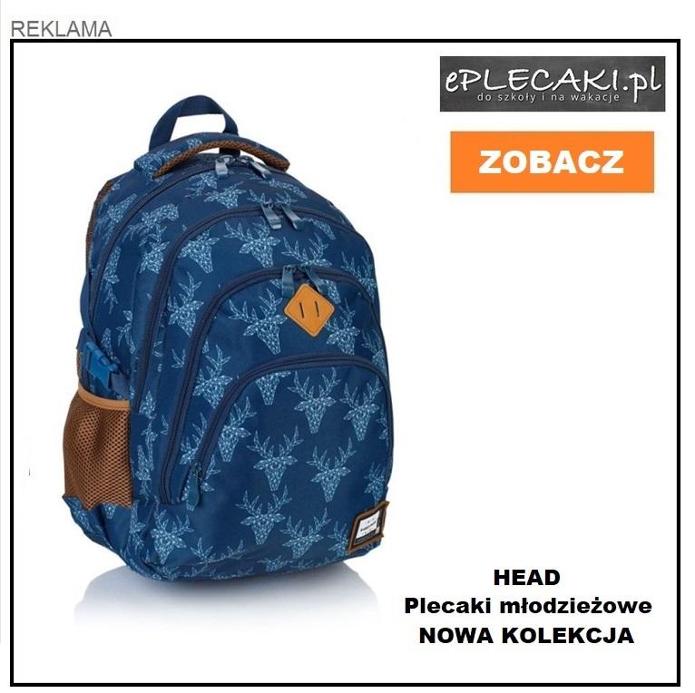83b1db539a00c Polecamy plecaki CoolPack CP dla młodzieży Jaki plecak do szkoły najlepszy?  Polecamy plecaki Head dla nastolatków