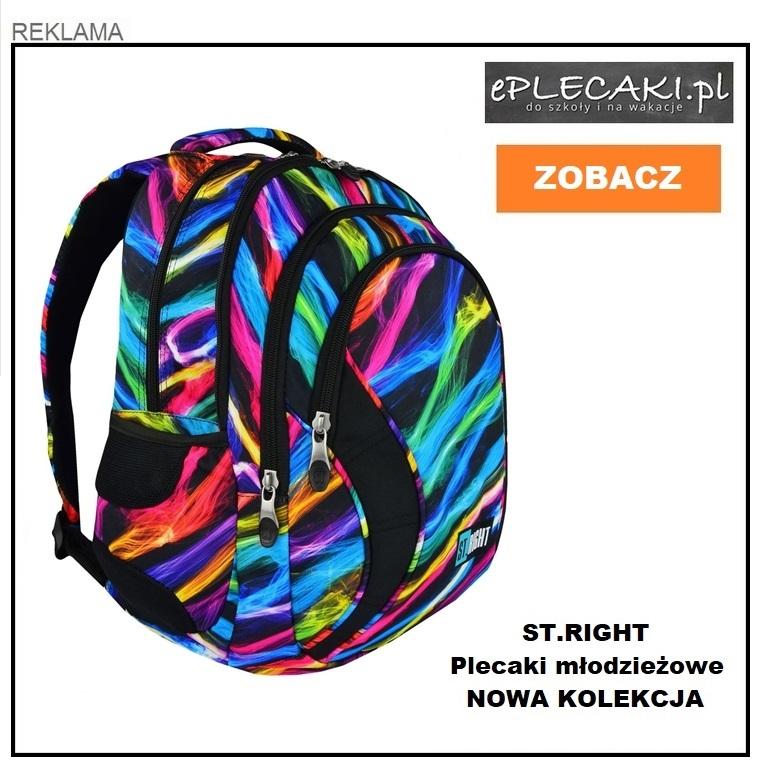 fb86ff4002bbf Plecaki St.Right dla chłopca i dla dziewczynki Tornistry do 1 ...