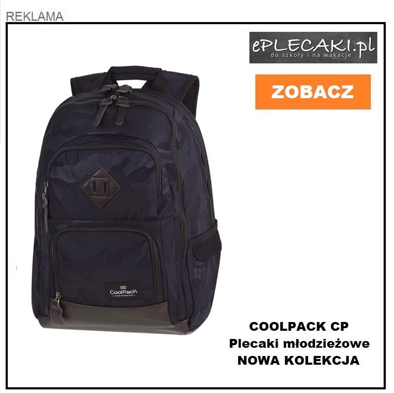 Jaki plecak wybrać doszkoły? Polecamy plecaki CoolPack CP dla młodzieży